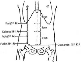 Image result for SP-16 acupuncture point
